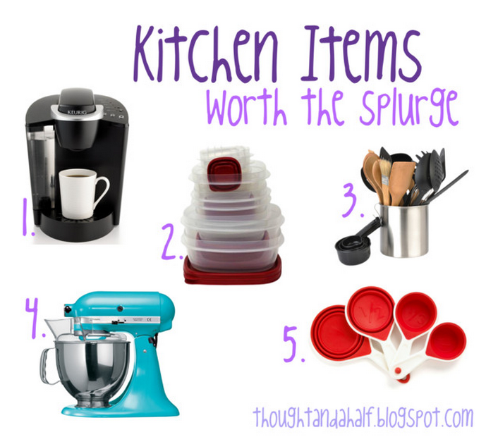 kitchen items worth splurge