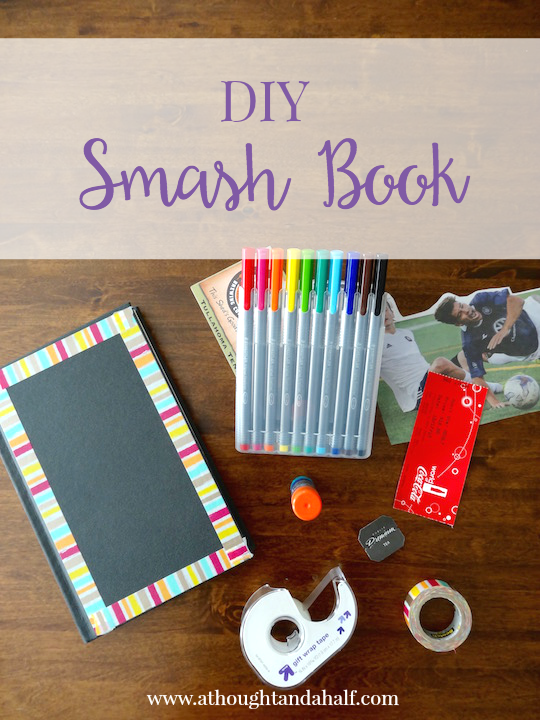 DIY smash book