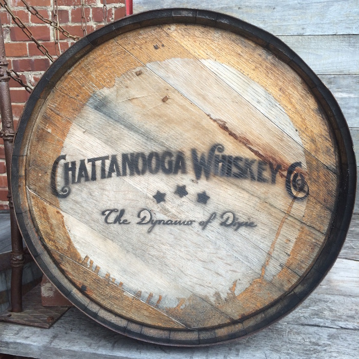 chattanooga whiskey barrel