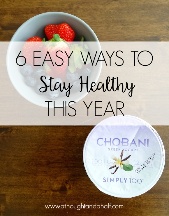 6 easy ways to stay healthy