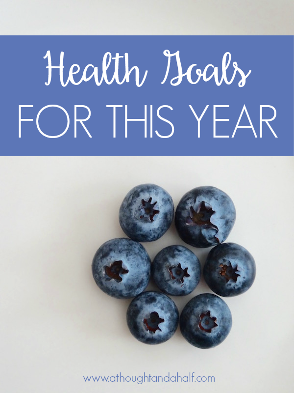 health goals for 2016