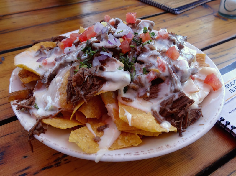 pot roast nachos food tour