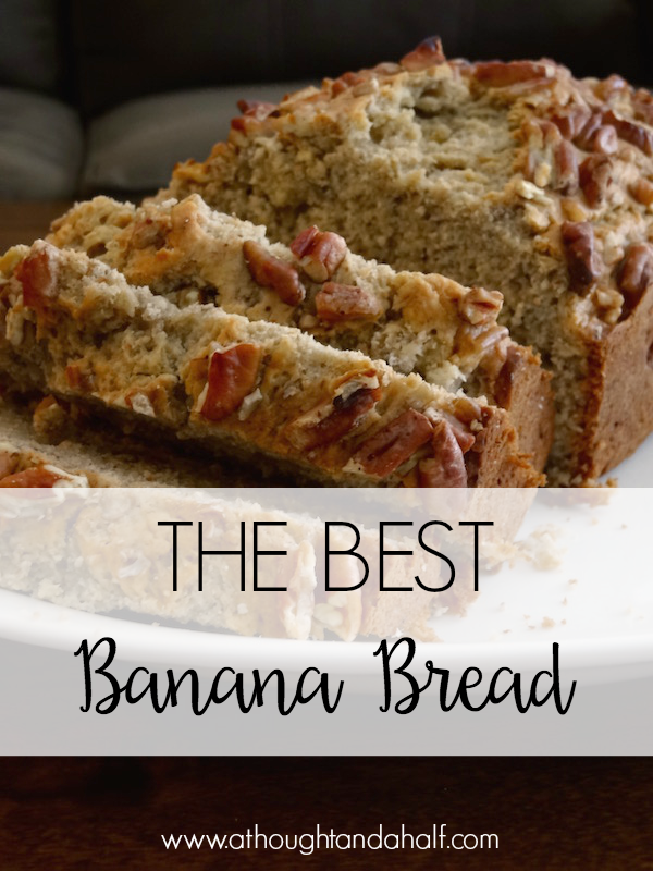 The best banana bread ever a thought and a half southern food best banana bread recipe forumfinder Choice Image