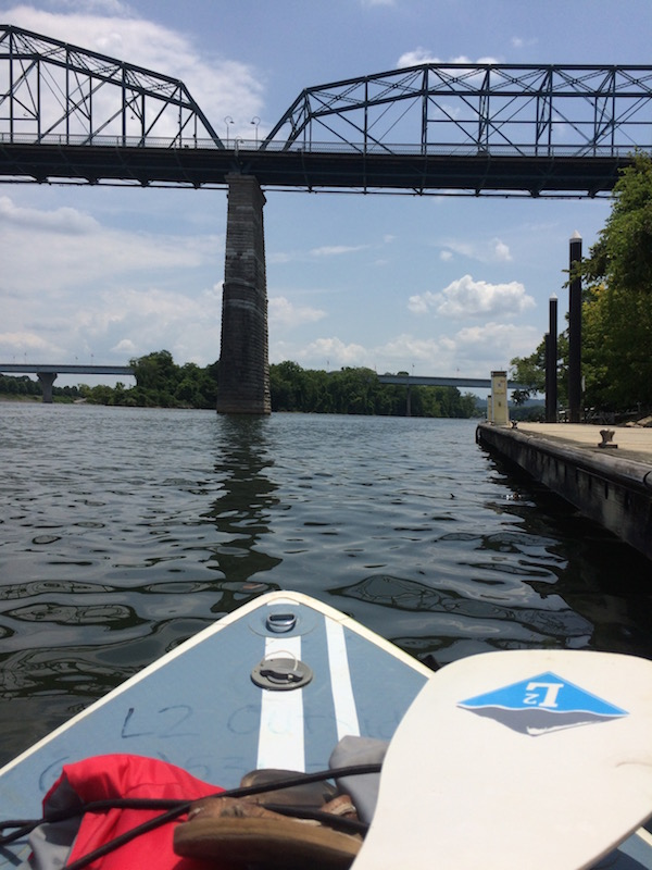 paddle boarding tennesse river