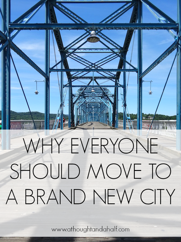 move to a brand new city