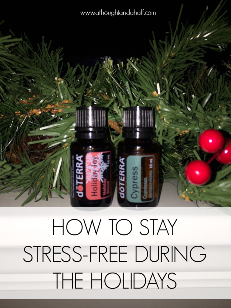 how to stay stress-free during the holidays giveaway