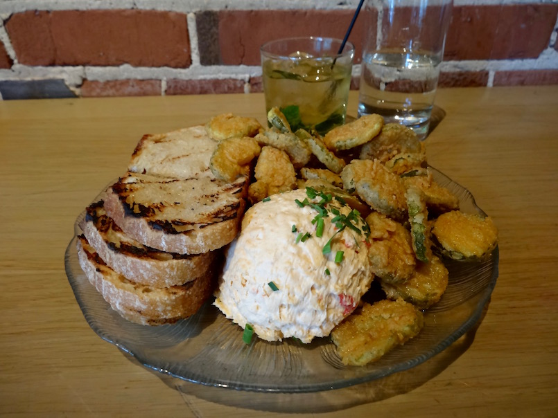 pimiento cheese fried pickles public house chattanooga