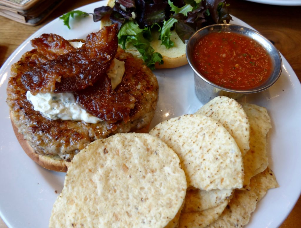 frothy monkey chattanooga sausage burger