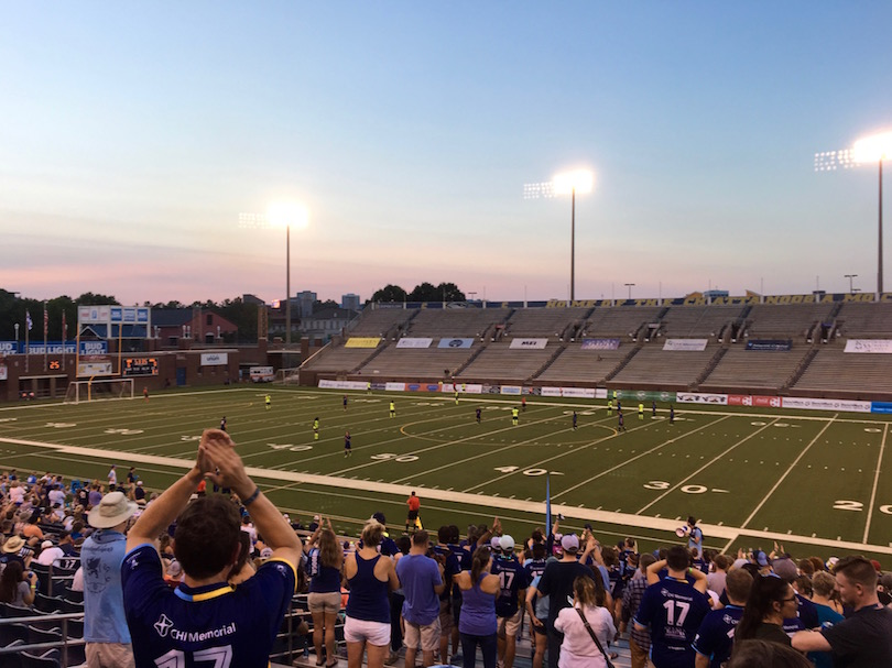chattanooga fc soccer match