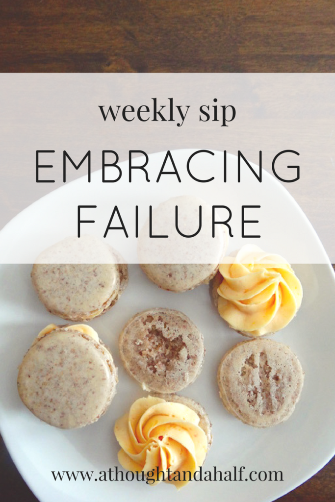 weekly sip embracing failure