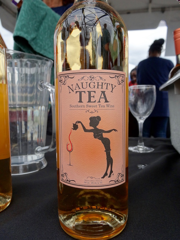 naughty tea sweet tea wine