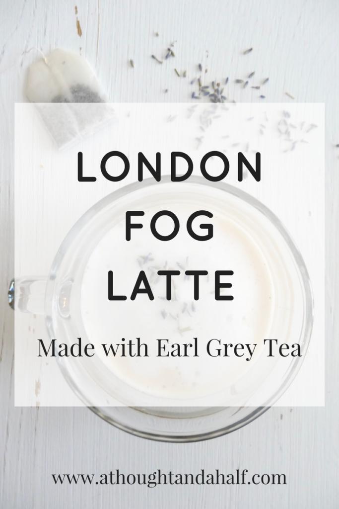 london fog latte recipe