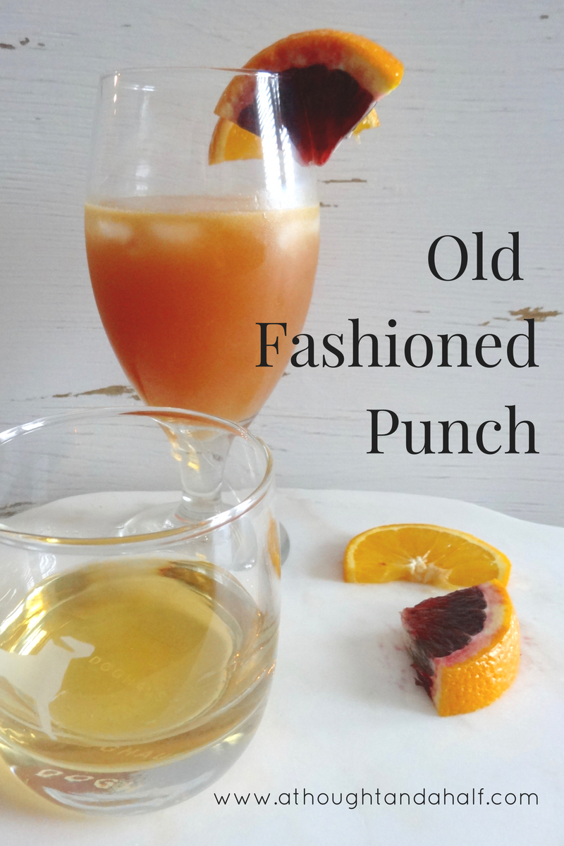 Old fashioned punch recipe