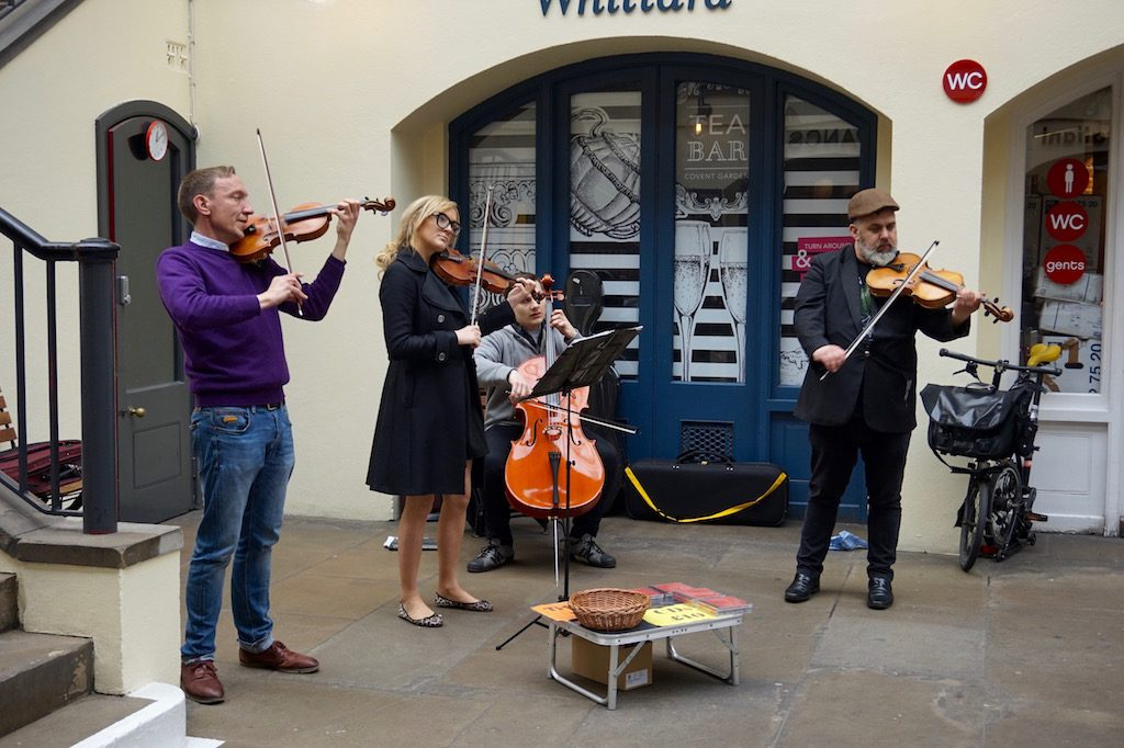 string quartet covent garden london