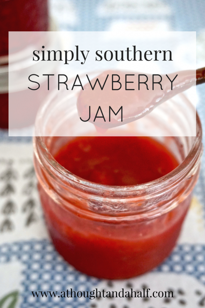 simply southern strawberry jam recipe