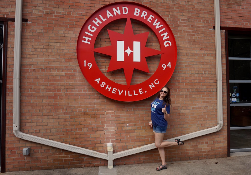 kate asheville highland brewing
