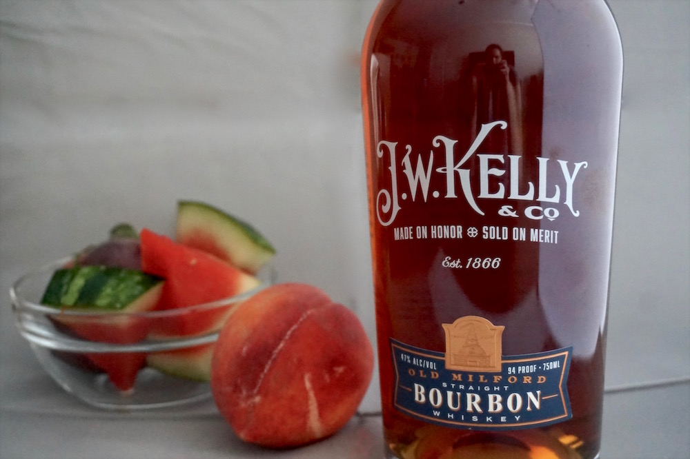 jw kelly & co bourbon summer fruit whiskey smash