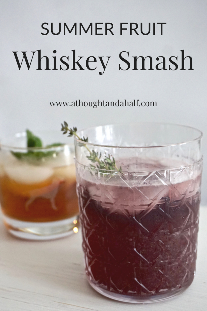whiskey smash pin image