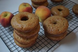 national donut day peach donuts