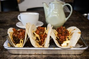 camp house breakfast tacos