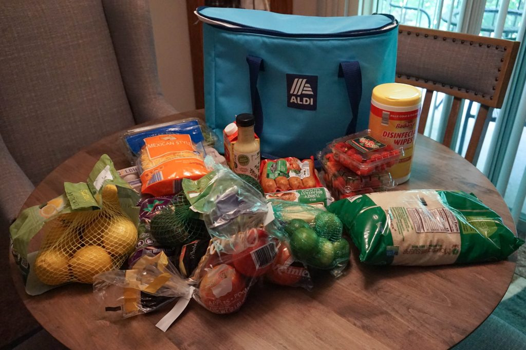 aldi shopping haul