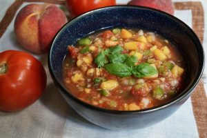 peach salsa recipe peach week