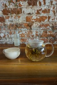 wildflower flowering white tea