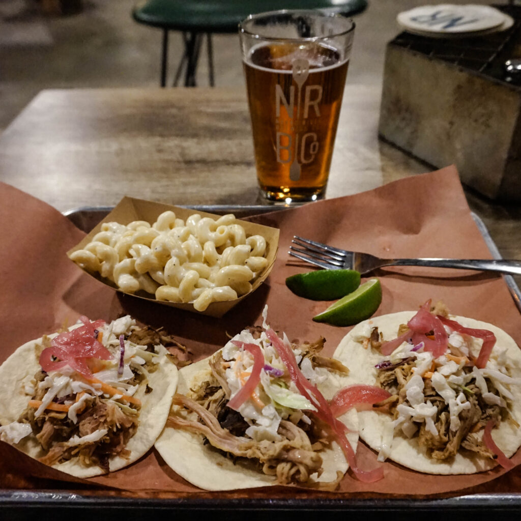 naked river brewing co taco tuesday