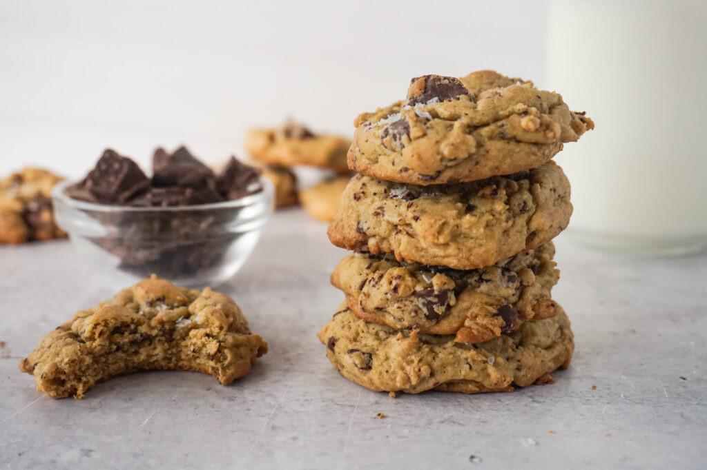 best brown butter chocolate chip cookies