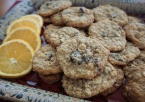 orange oatmeal craisin cookies