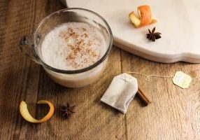 orange spice tea latte recipe